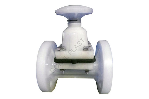 PP Diaphragm End Valve