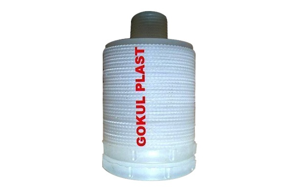 PP Disc Type Strainers short threaded