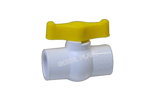 PP Solid Type Ball Valve